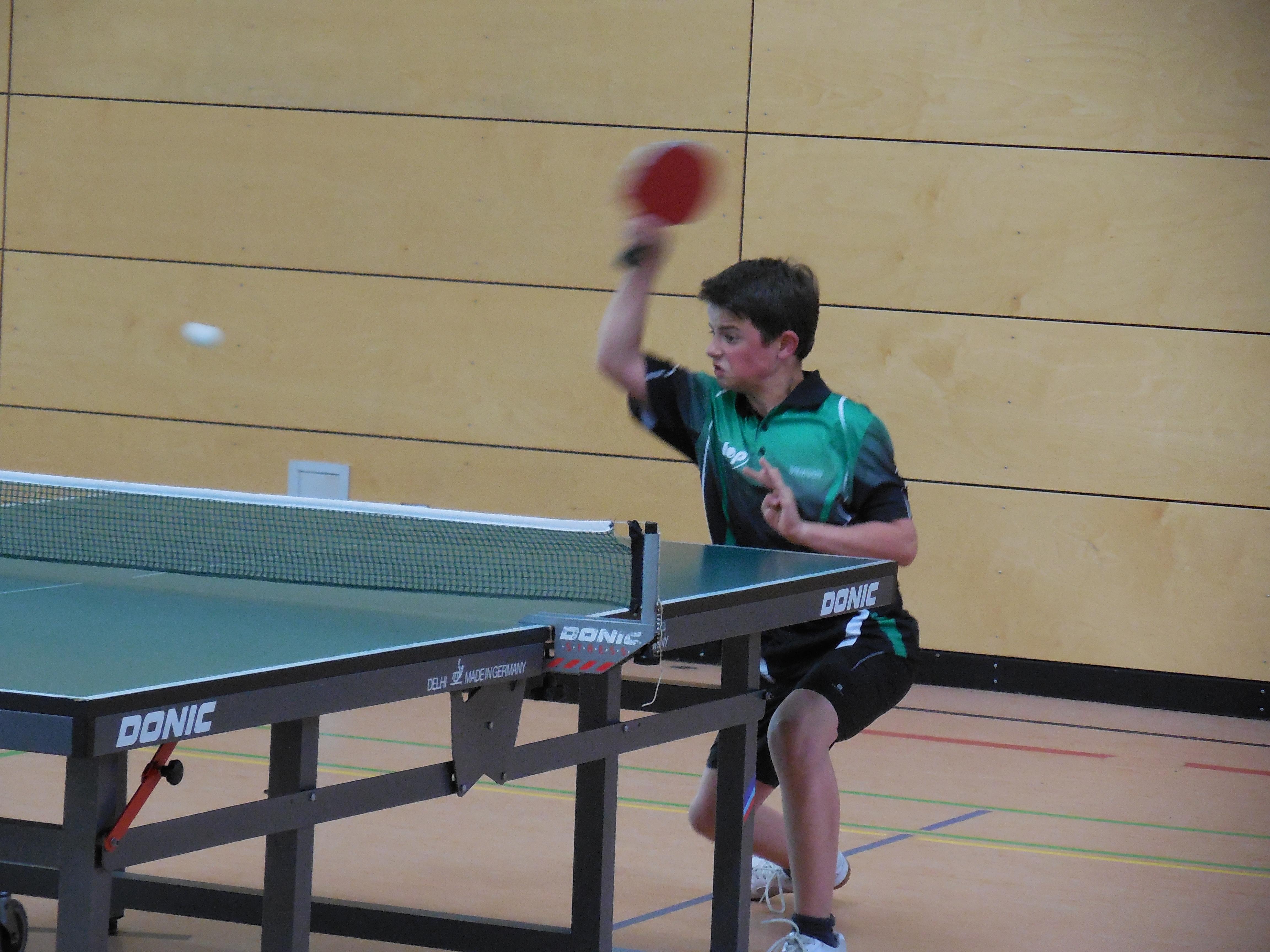 1.Jugendmannschaft U18 Moritz Senger Nr.1