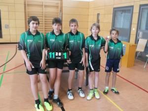 2.Jugendmannschaft U15 Saison 2013-2014