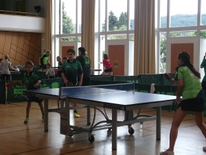 Besuch beim Bundesligisten aus Plüderhausen (1)